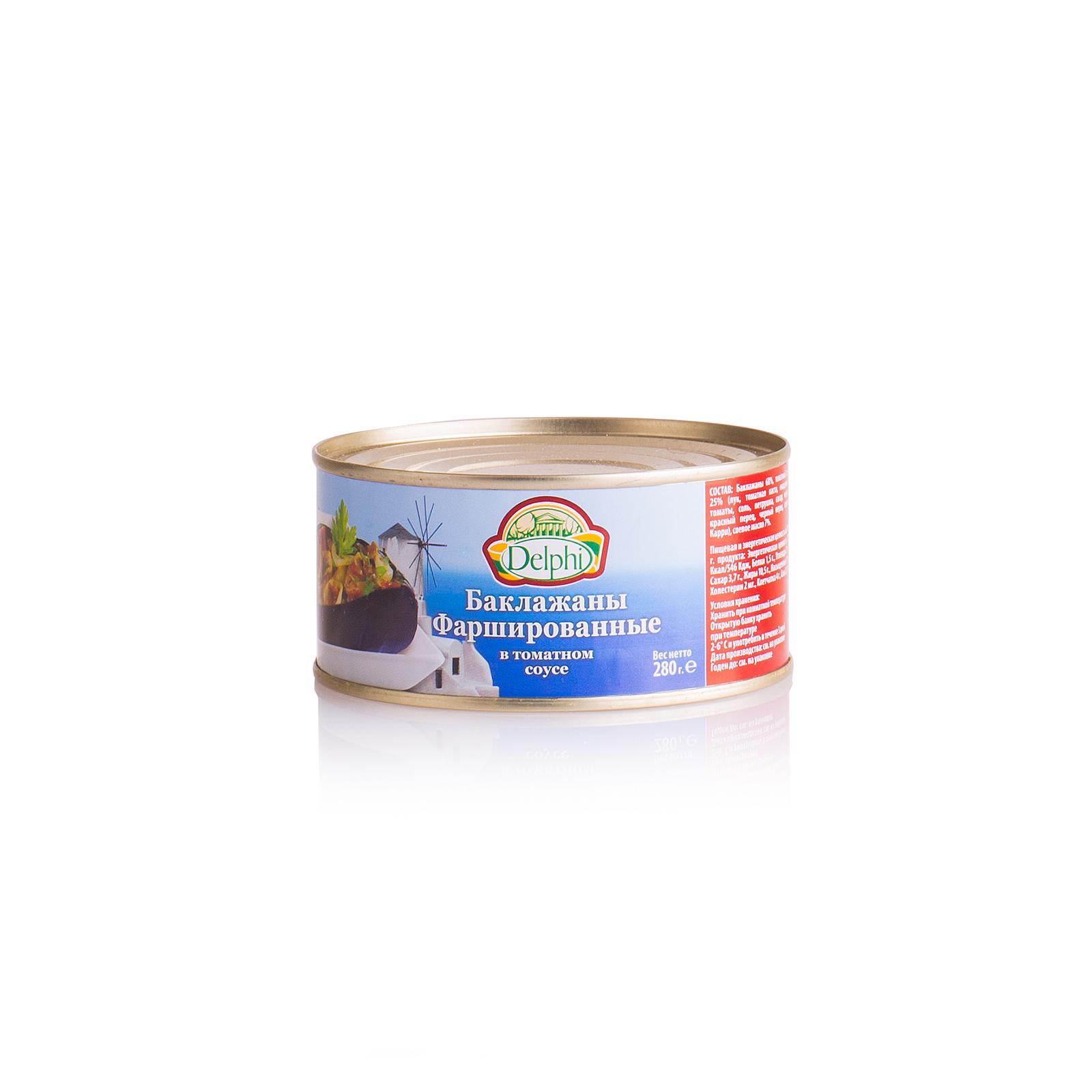Баклажаны фаршированные, в томатном соусе, DELPHI 280г