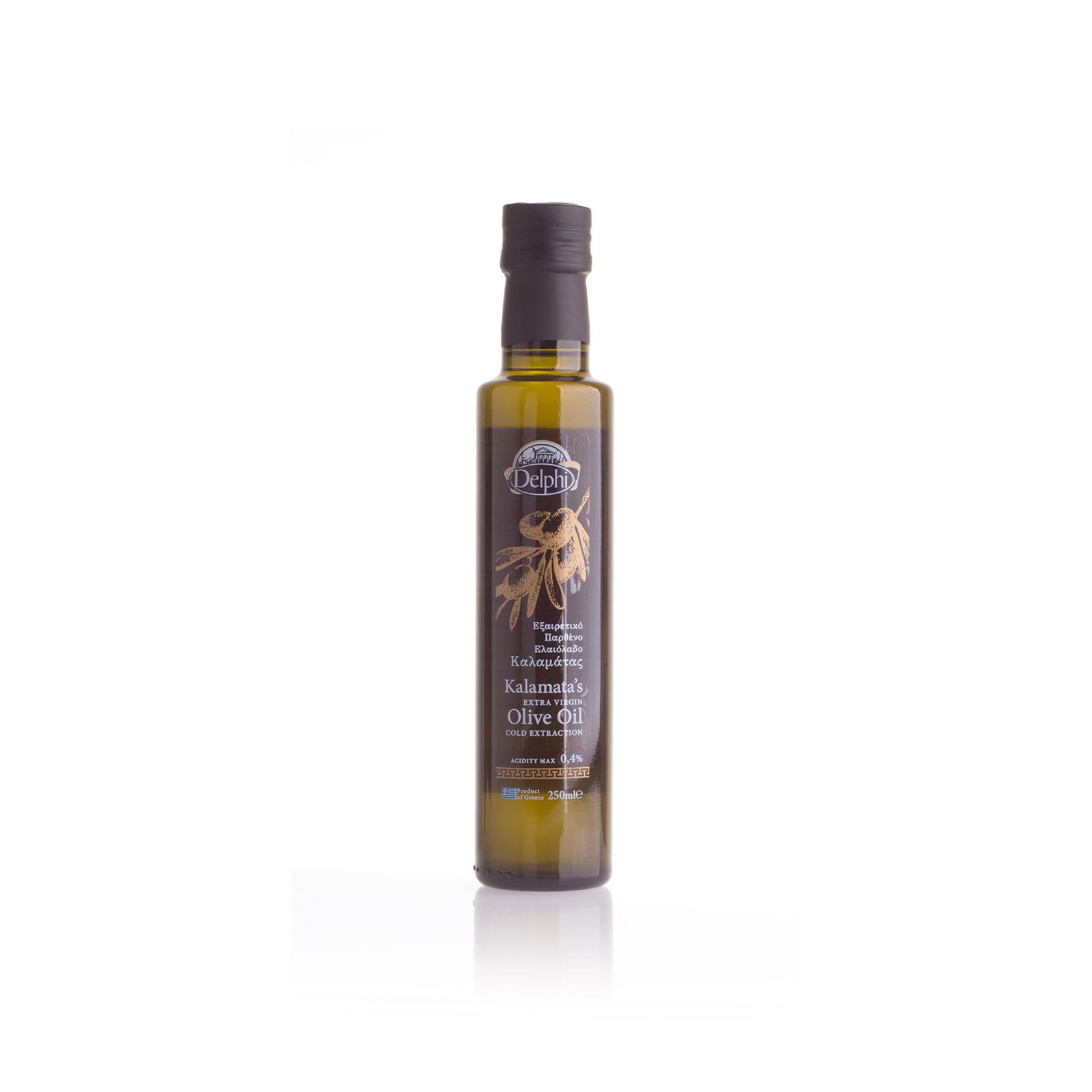 Оливковое масло Extra Virgin Kalamata DELPHI 0,25л
