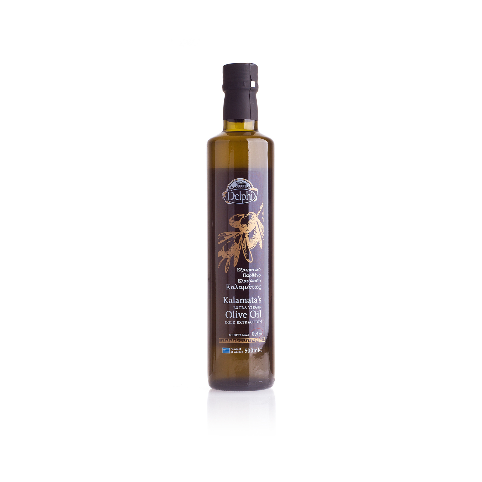 Оливковое масло Extra Virgin Kalamata DELPHI 0,5л