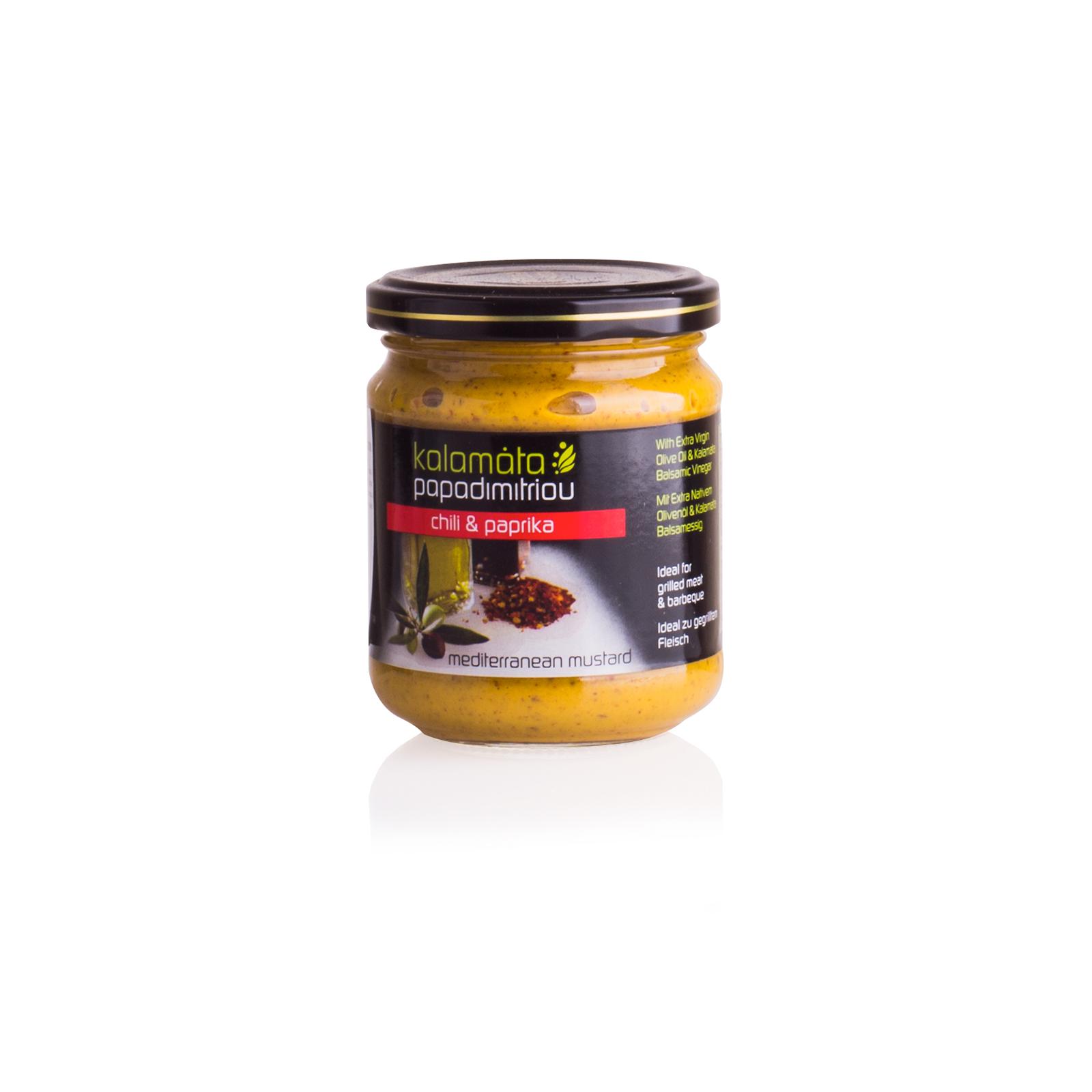 Горчица с оливковым маслом и бальзамическим уксусом PAPADIMITRIOU 200г
