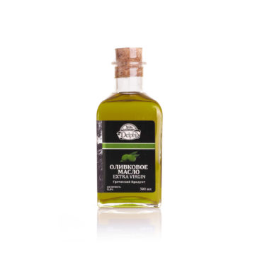Оливковое масло Extra Virgin DELPHI 0,5л