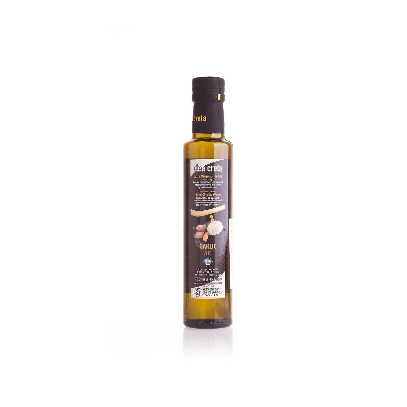 Оливковое масло Extra Virgin с чесноком ELEA CRETA 0,25л