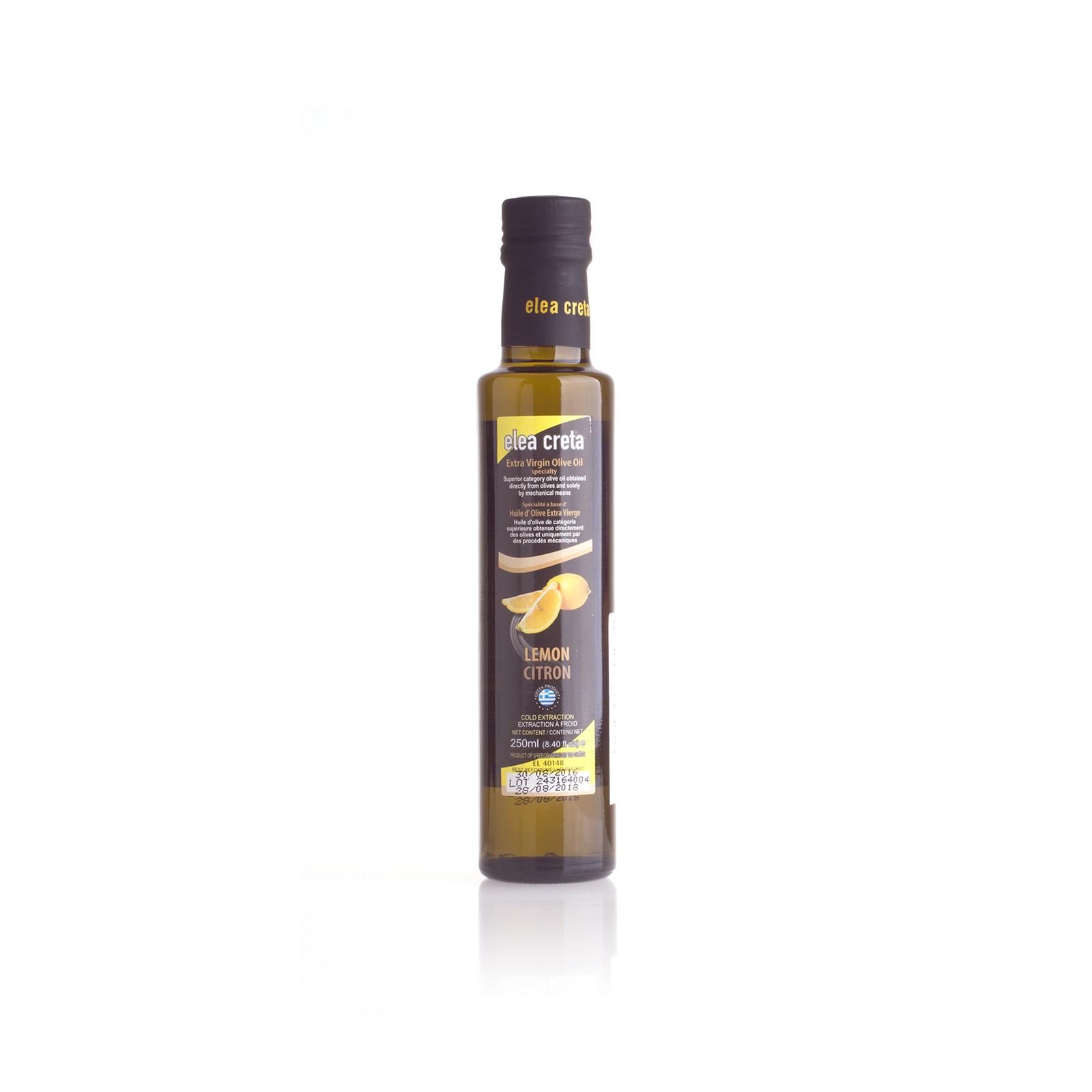 Оливковое масло Extra Virgin с лимоном ELEA CRETA 0,25л