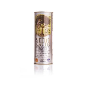 Оливковое масло Extra Virgin 0,3% SITIA CRETA ORINO P.D.O. 0,5л