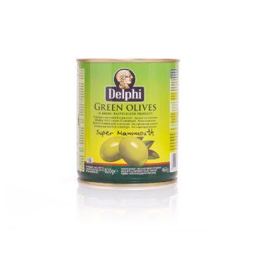 Оливки с косточкой в рассоле DELPHI 820г