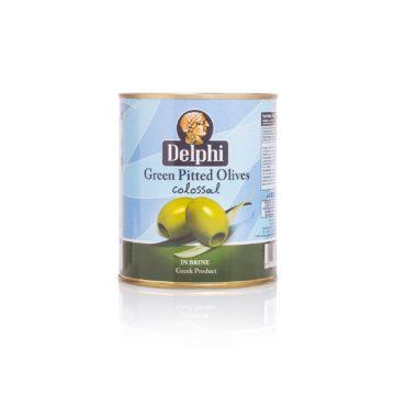 Оливки без косточки в рассоле DELPHI 820г