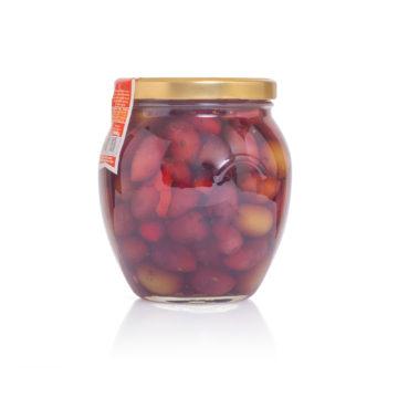 Оливки и маслины Kalamata с косточкой маринованные DELPHI 1000г