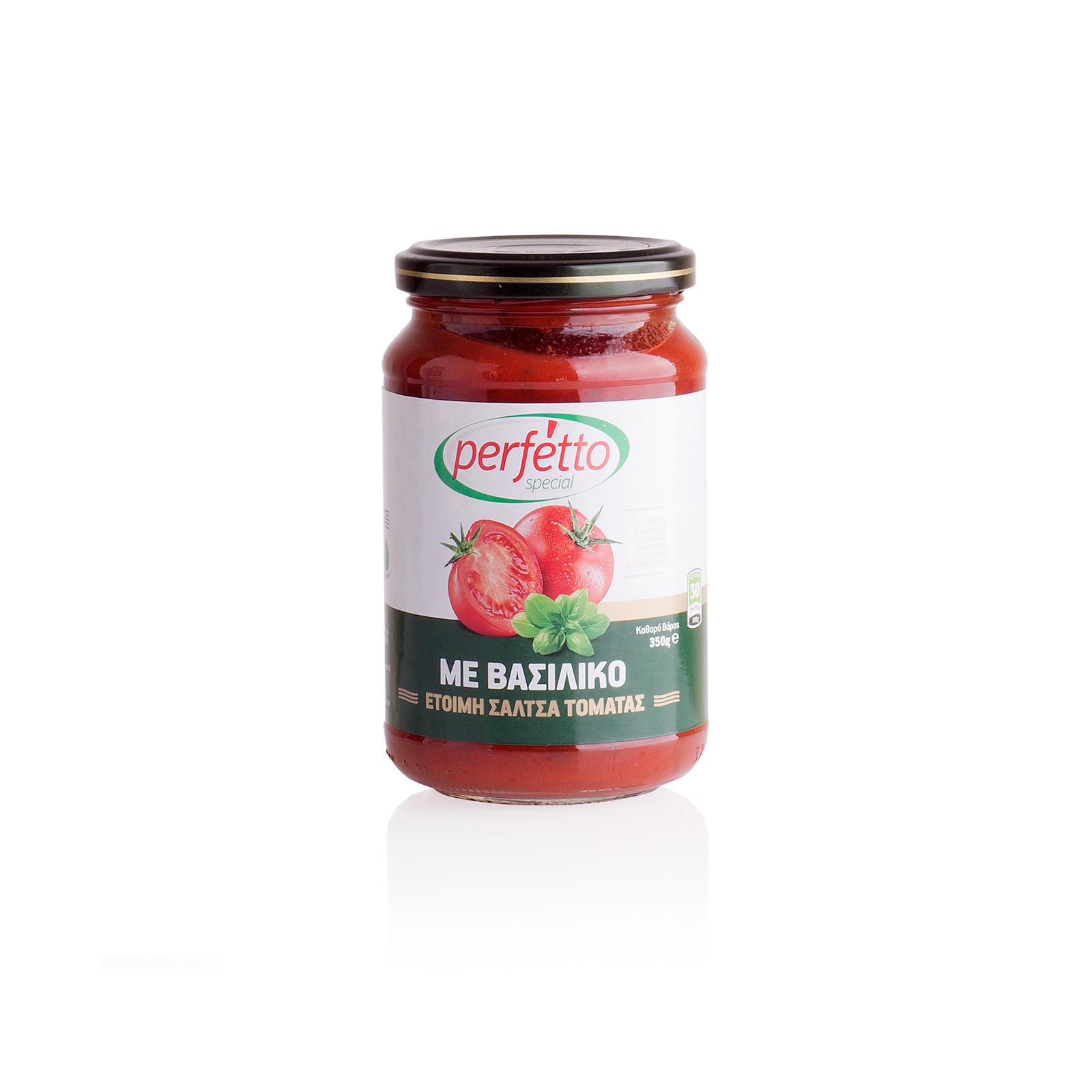 Соус томатный с базиликом, PERFETTO SPECIAL 350г