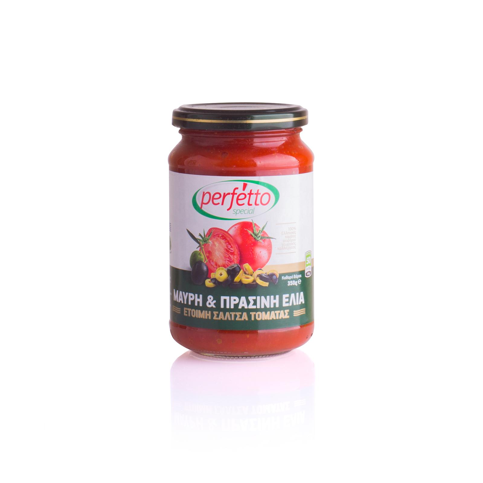Соус томатный с оливками и маслинами, PERFETTO SPECIAL 350г