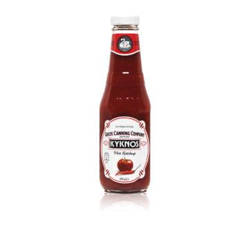 41.0016 Кетчуп томатный острый KYKNOS 330г стб 2