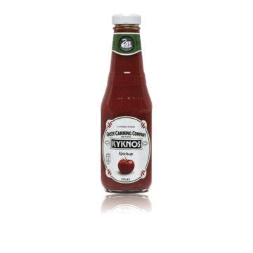 41.0018 Кетчуп томатный KYKNOS 330г стб 2