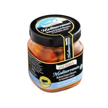 42.0030 Фасоль печеная гигантская в томатном соусе PALIRRIA 280 г ст.б