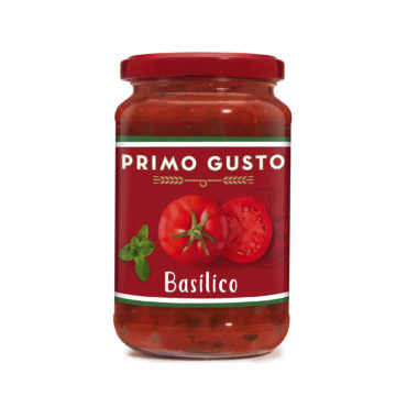 41.0022 Соус томатный с базиликом Primo Gusto 350 г