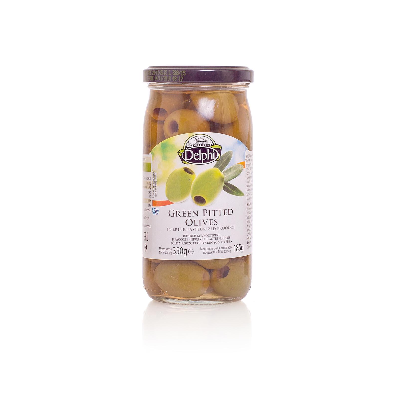 Оливки без косточки в рассоле DELPHI 350г