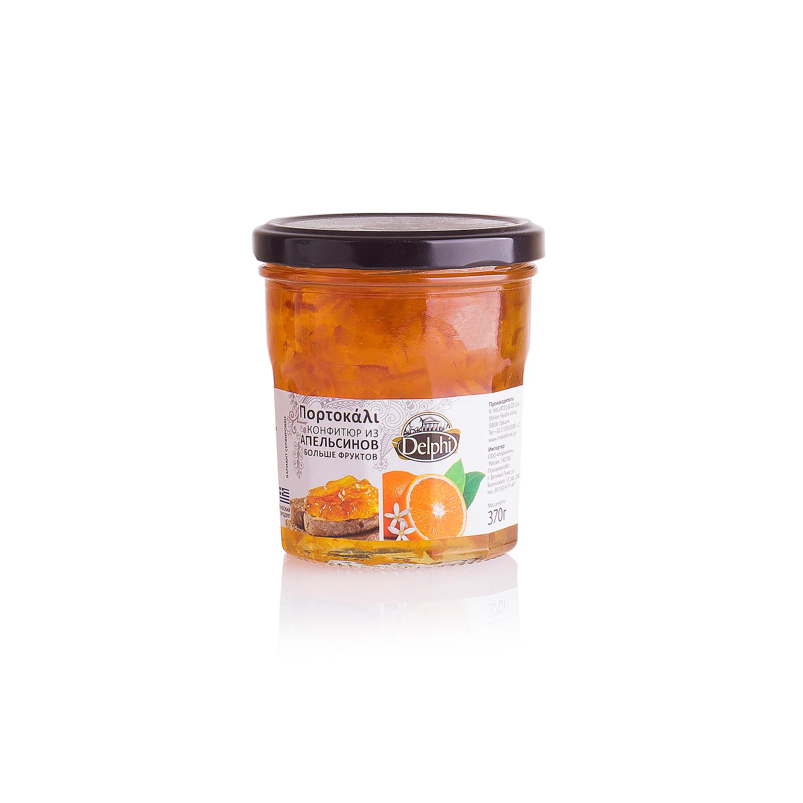 Конфитюр из апельсинов DELPHI 370г