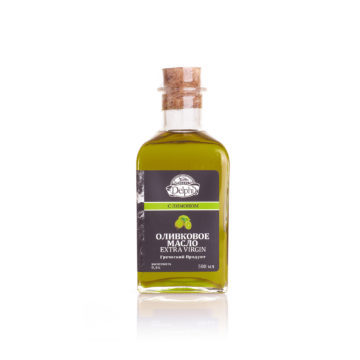 Оливковое масло Extra Virgin с лимоном DELPHI 0,5л