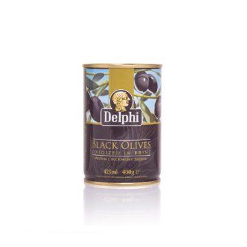 Маслины с косточкой в рассоле DELPHI 400г