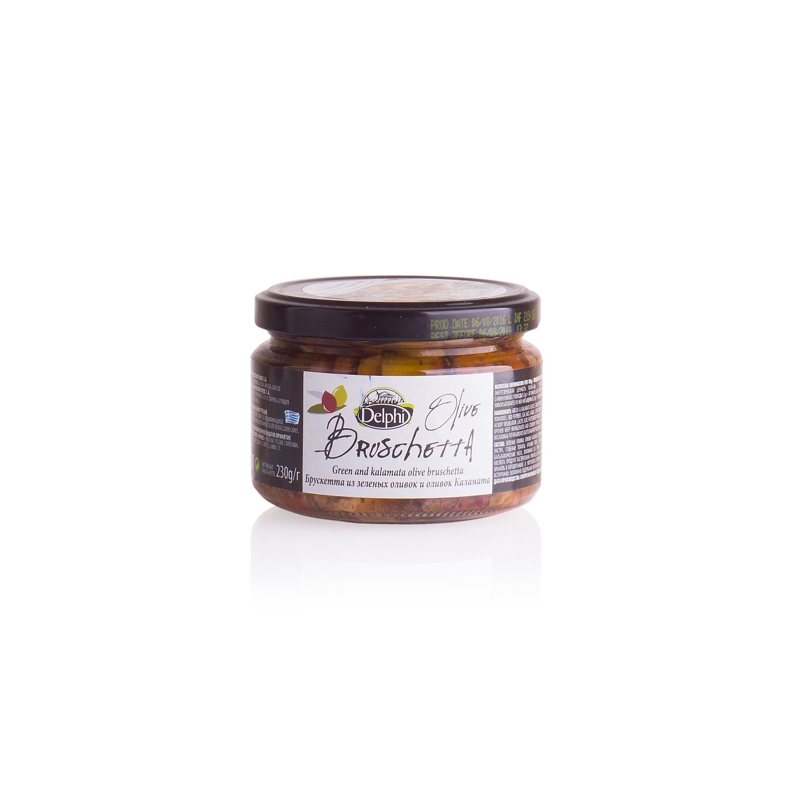 Брускетта из оливок и маслин Kalamata, DELPHI 230г