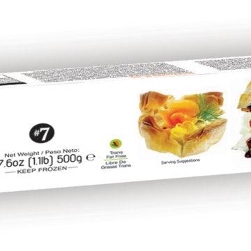 19.0016 Тесто филло листовое замороженное FILOSOPHY 500г