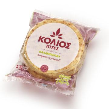 19.0022 Пита греческая кукурузная KOLIOS 800г (80 г х 10 шт)