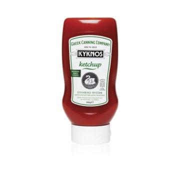 41.0019 Кетчуп томатный KYKNOS 580г пластик 2