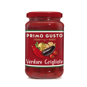 41.0021 Соус томатный с овощами на гриле Primo Gusto 350г