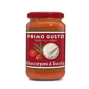 41.0023 Соус томатный с Маскарпоне и рукколой Primo Gusto 350 г