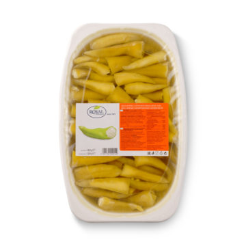 42.0041 Перец зелёный, фаршированный сыром, в масле 1900 г