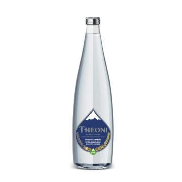 23.0007 Вода минер. питьевая природная столовая газированная THEONI 1000 мл.
