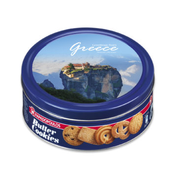 15.0019,1 Печенье сливочное Метеоры, PAPADOPOULOS 454 г